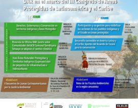 DAR participará en el III Congreso de Áreas Protegidas de Latinoamérica y el Caribe