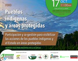 Promueven Cogestión de Pueblos Indígenas en Áreas Naturales Protegidas